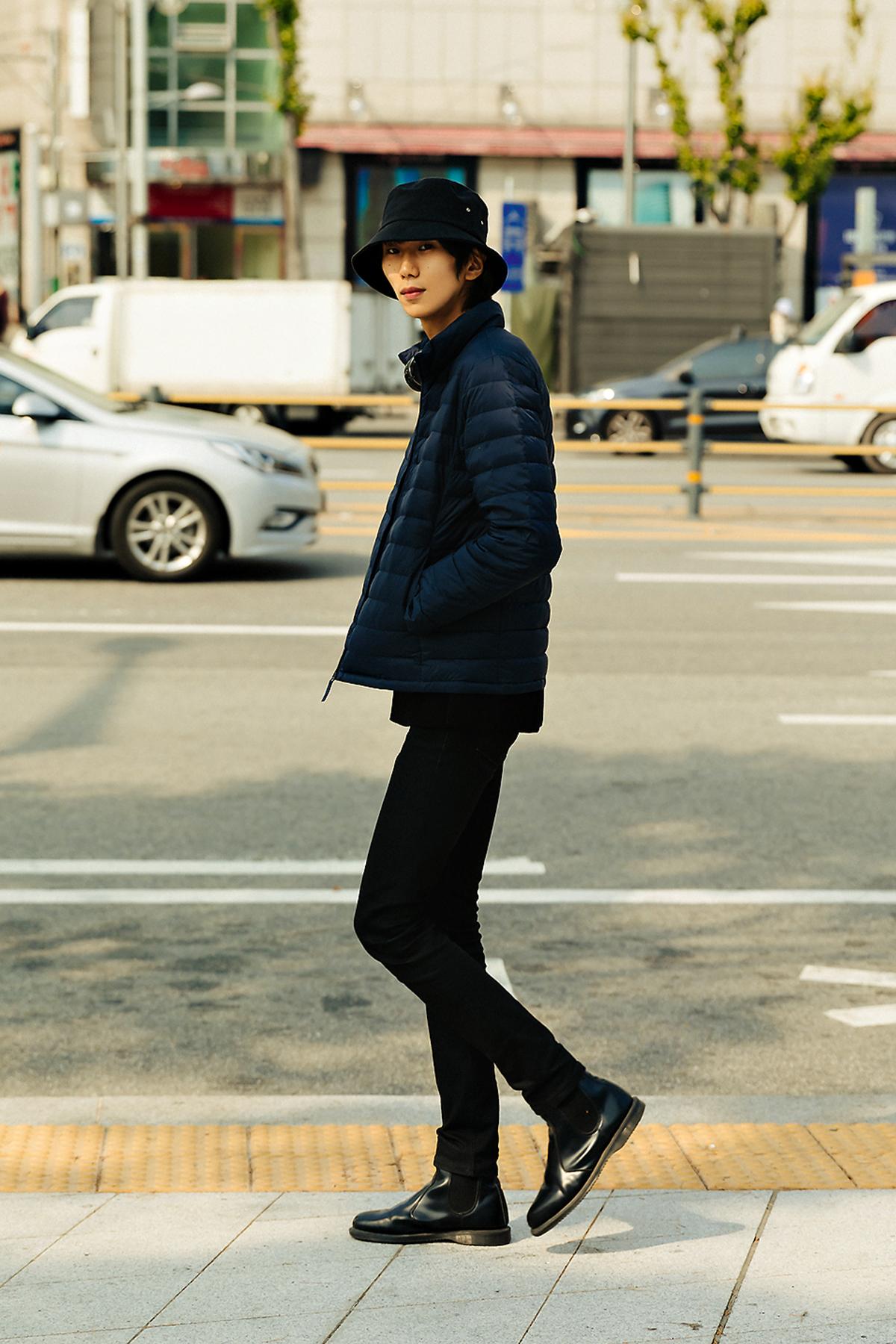 MUSINSA STANDARD LIGHT DOWN Menswear Hera Seoul Fashionweek 2019 SS13