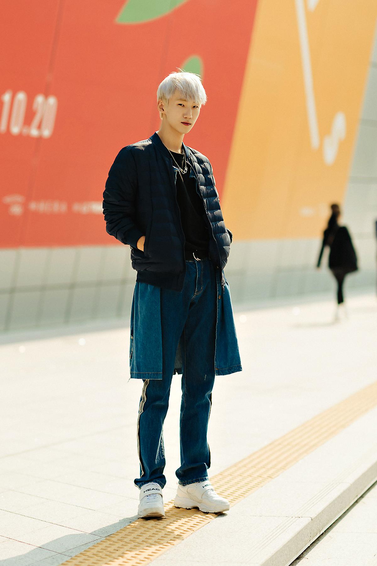 MUSINSA STANDARD LIGHT DOWN Menswear Hera Seoul Fashionweek 2019 SS19