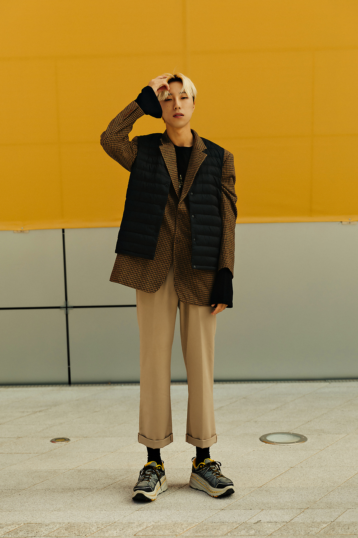 MUSINSA STANDARD LIGHT DOWN Menswear Hera Seoul Fashionweek 2019 SS2