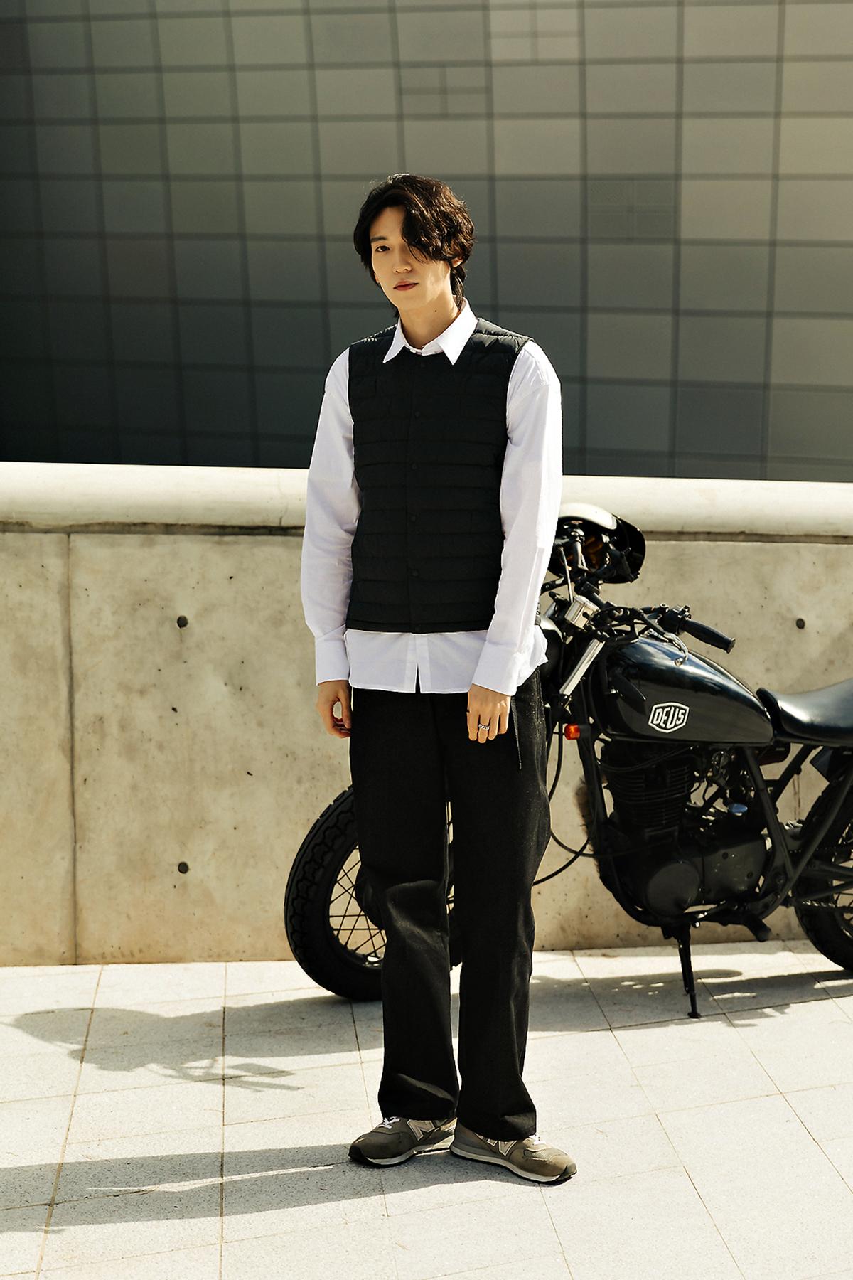 MUSINSA STANDARD LIGHT DOWN Menswear Hera Seoul Fashionweek 2019 SS8