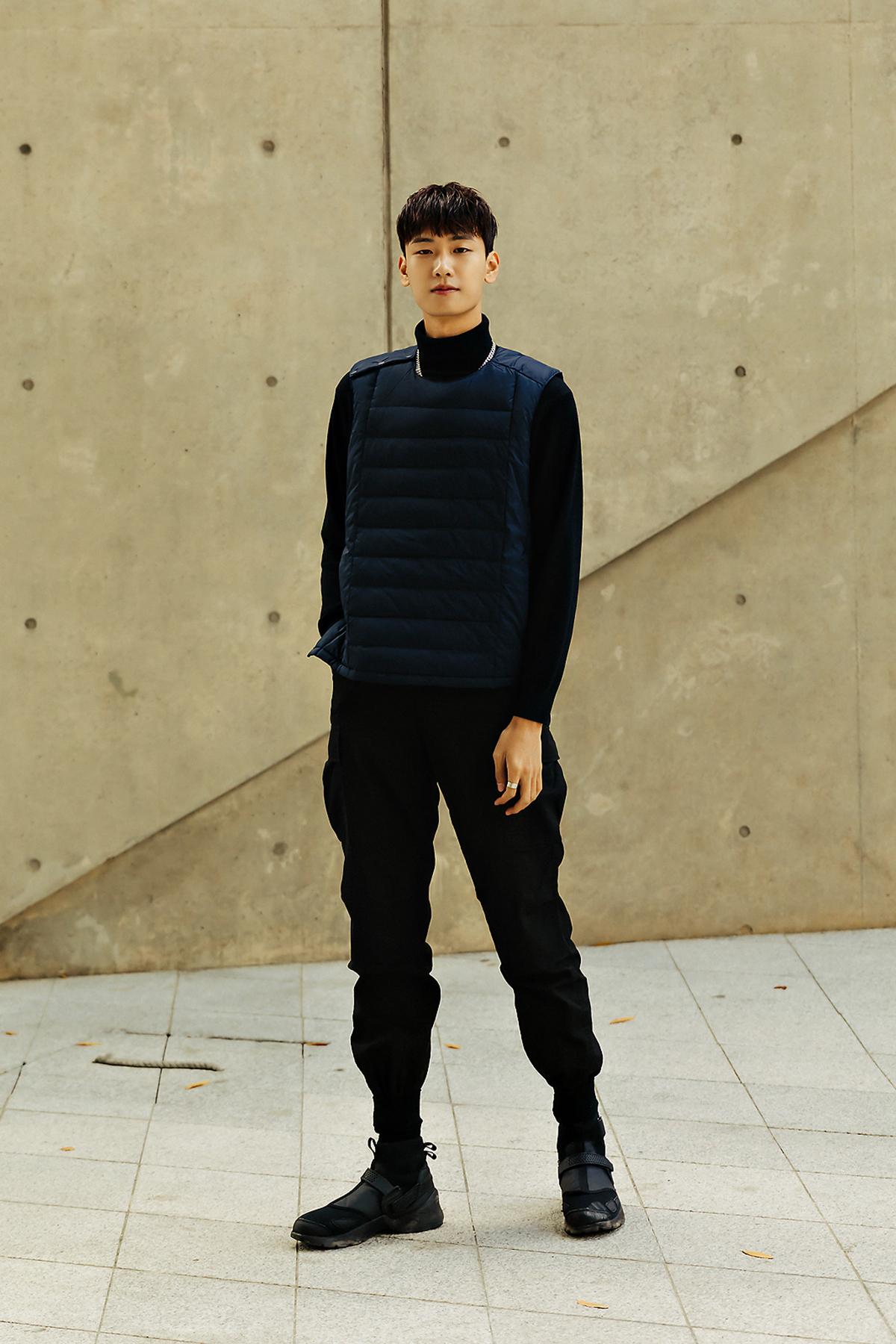 MUSINSA STANDARD LIGHT DOWN Menswear Hera Seoul Fashionweek 2019 SS9
