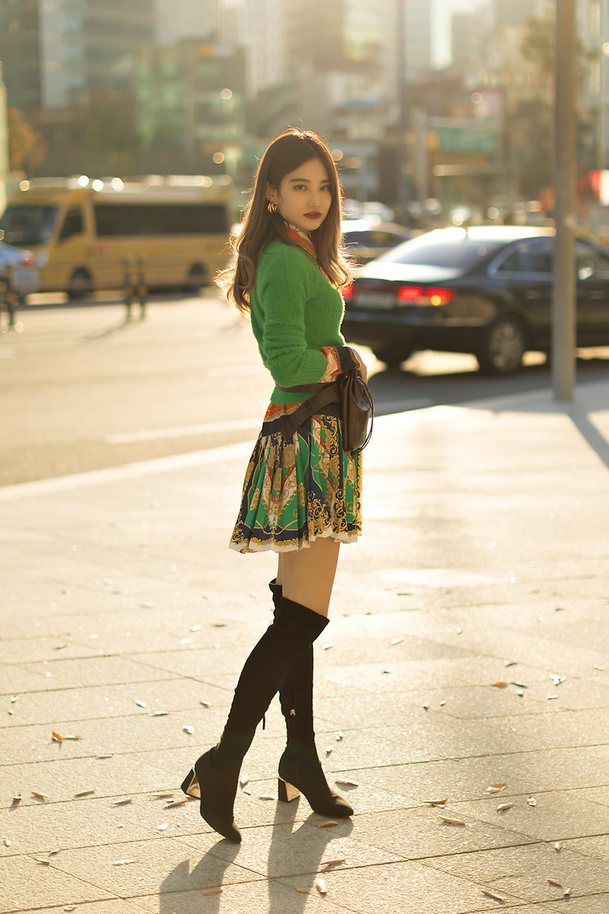 SEOUL FASHION WEEK STREETWEAR WOMENS 2019SS 5Day 12