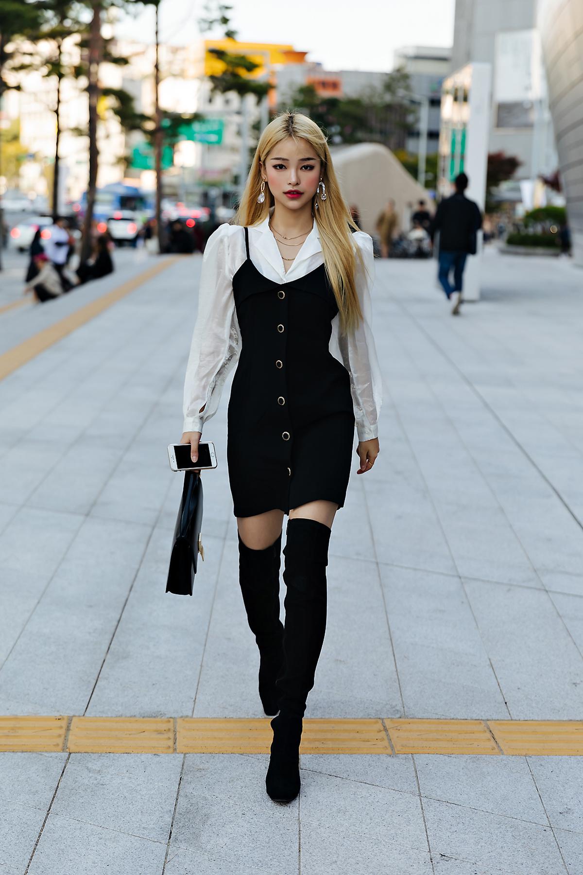 SEOUL FASHION WEEK STREETWEAR WOMENS 2019SS 5Day 13