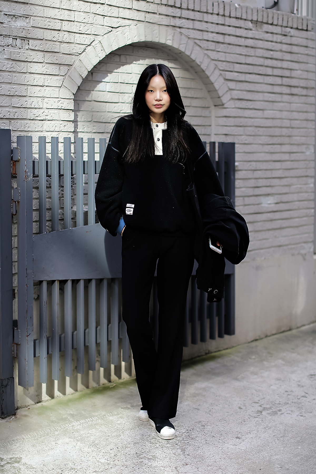 Women fall street style fourth week of october 2018 in seoul 13