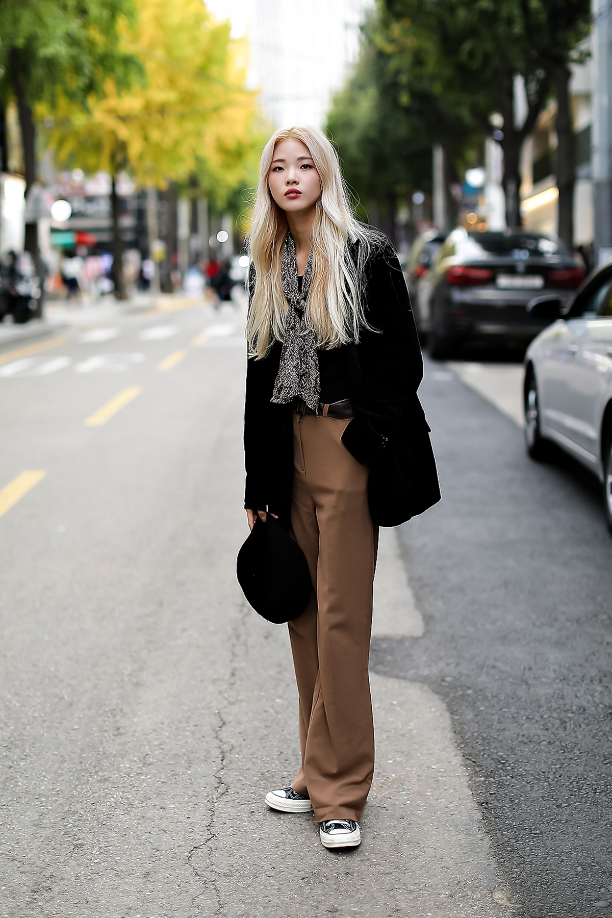 Women fall street style fourth week of october 2018 in seoul 18