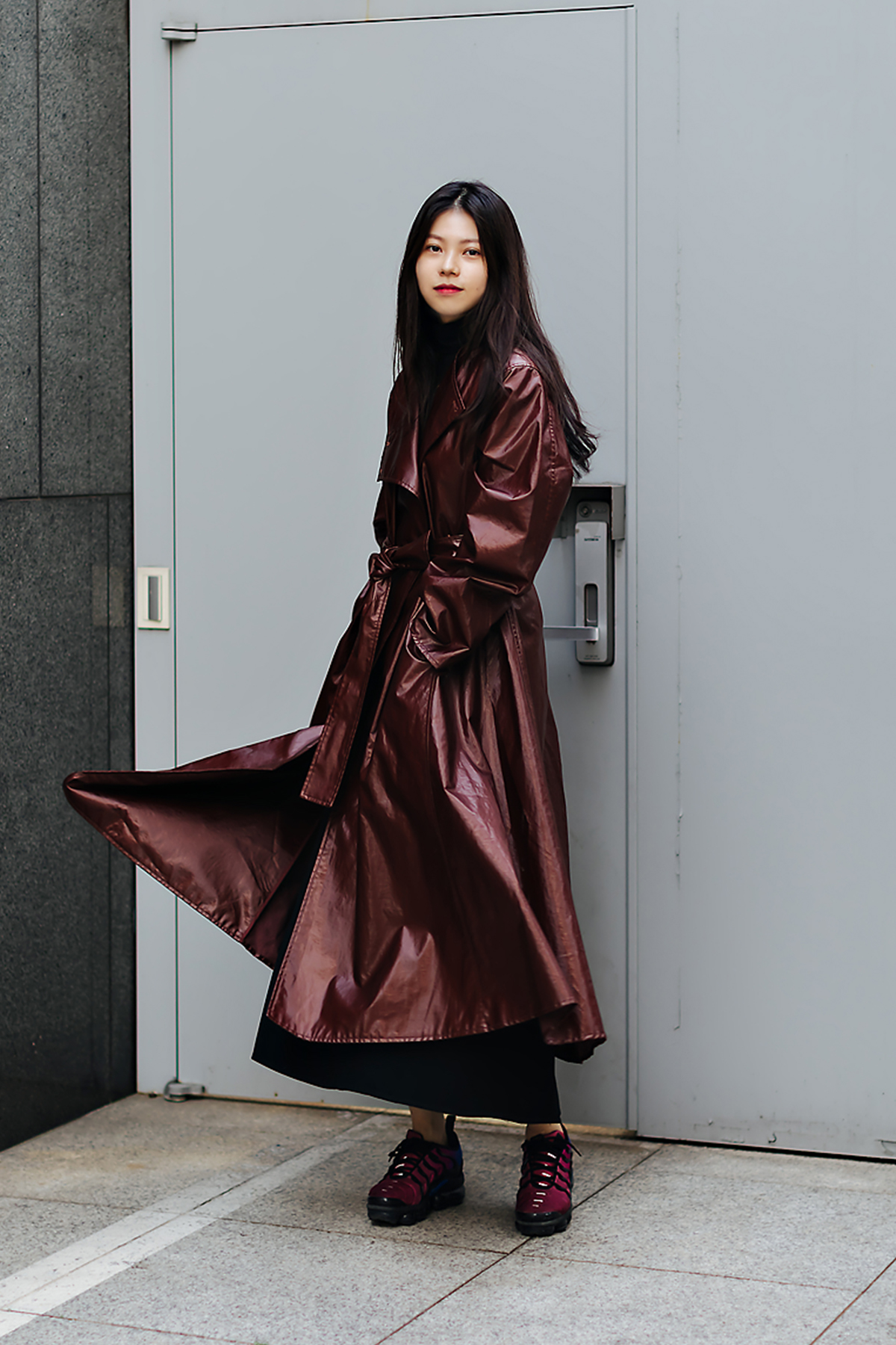 Women fall street style fourth week of october 2018 in seoul 7