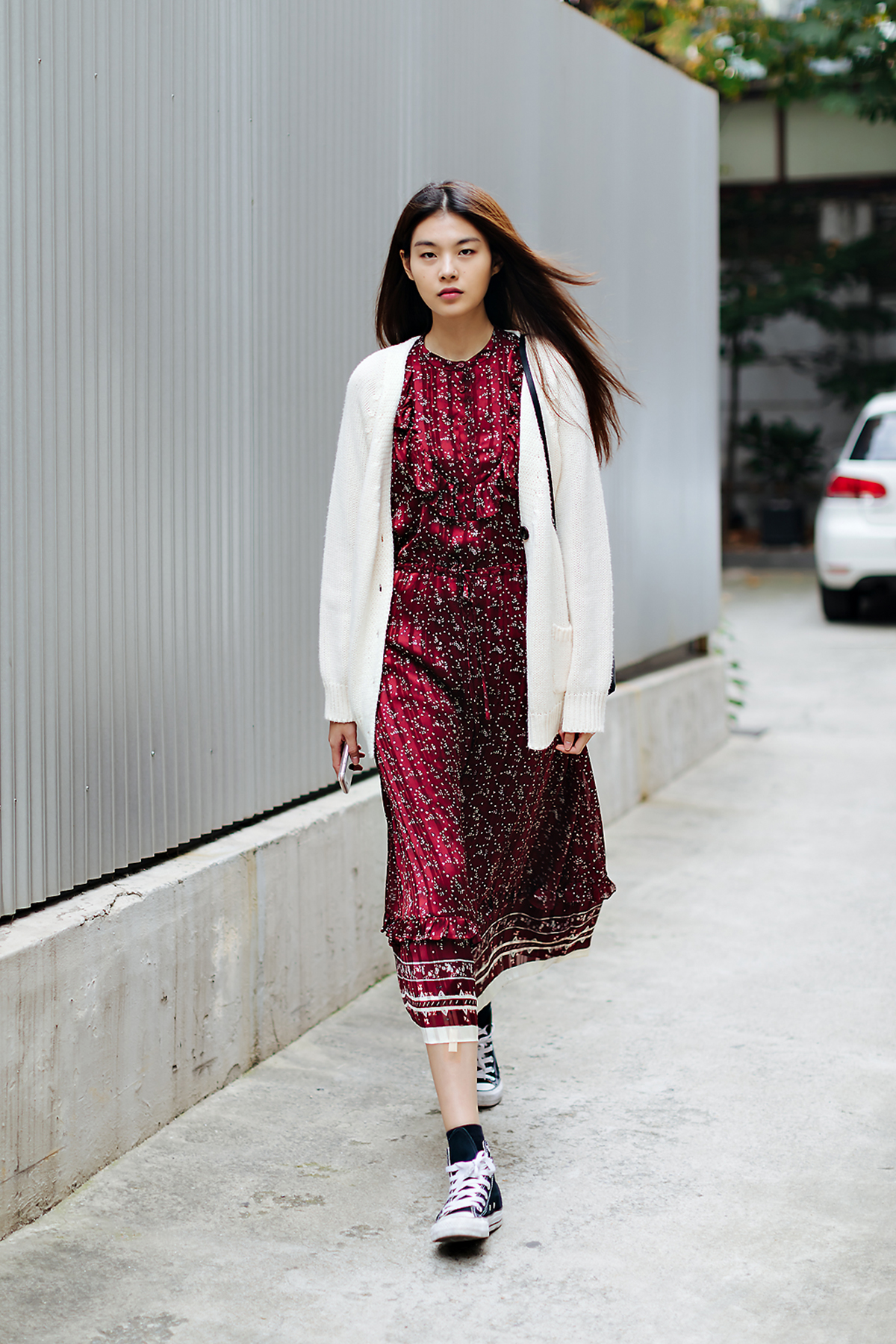 Women fall street style fourth week of october 2018 in seoul 8