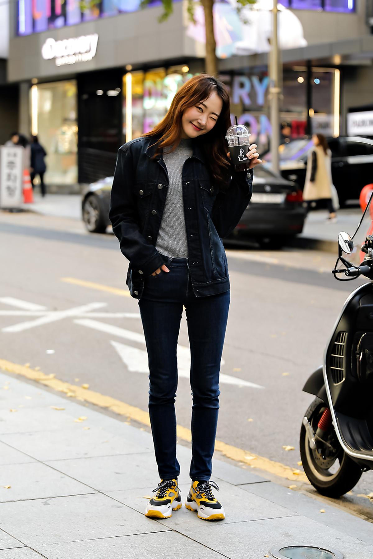 Women fall street style last week of october 2018 inseoul