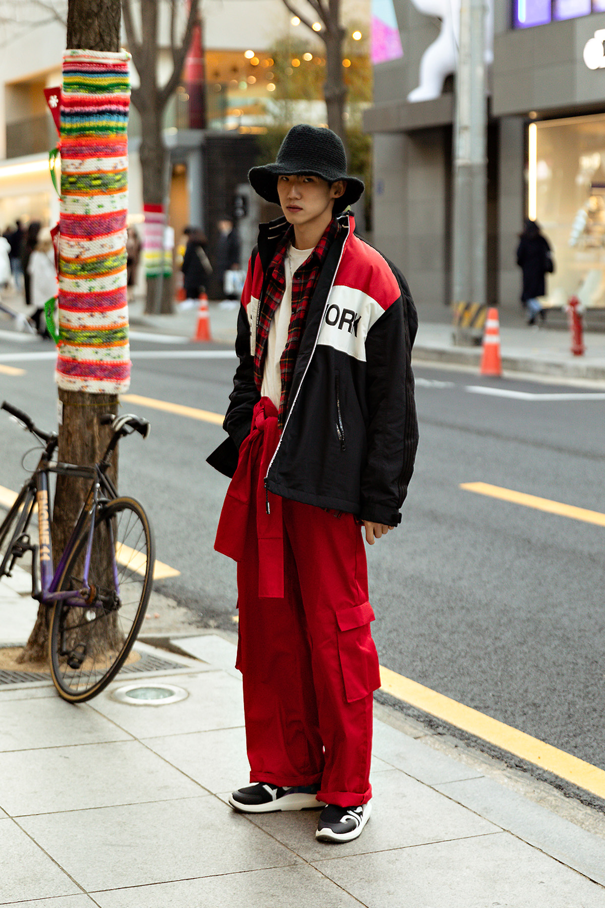 Second winter of January 2019 Men's Street Style in Seoul