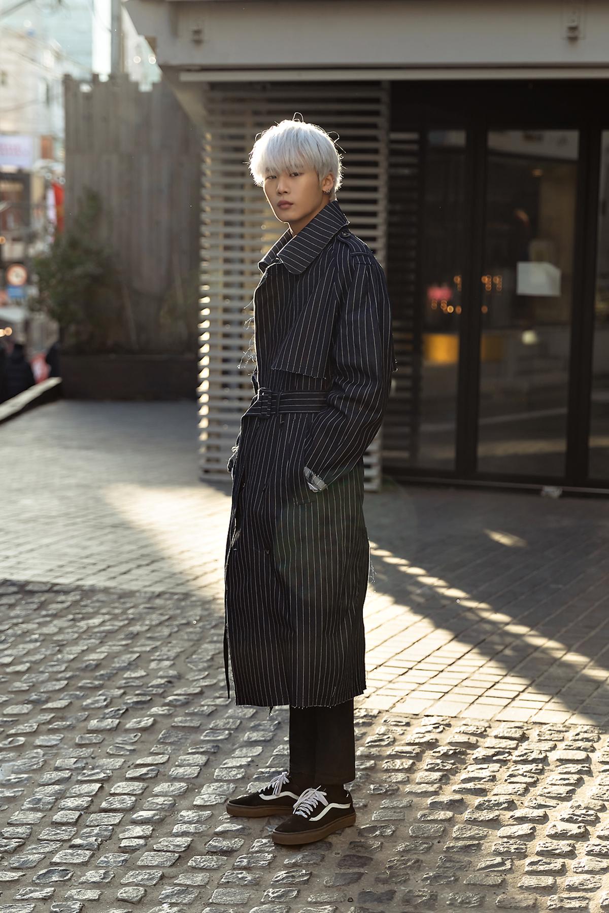 Last week of January 2019, Seoul Men's Street Style