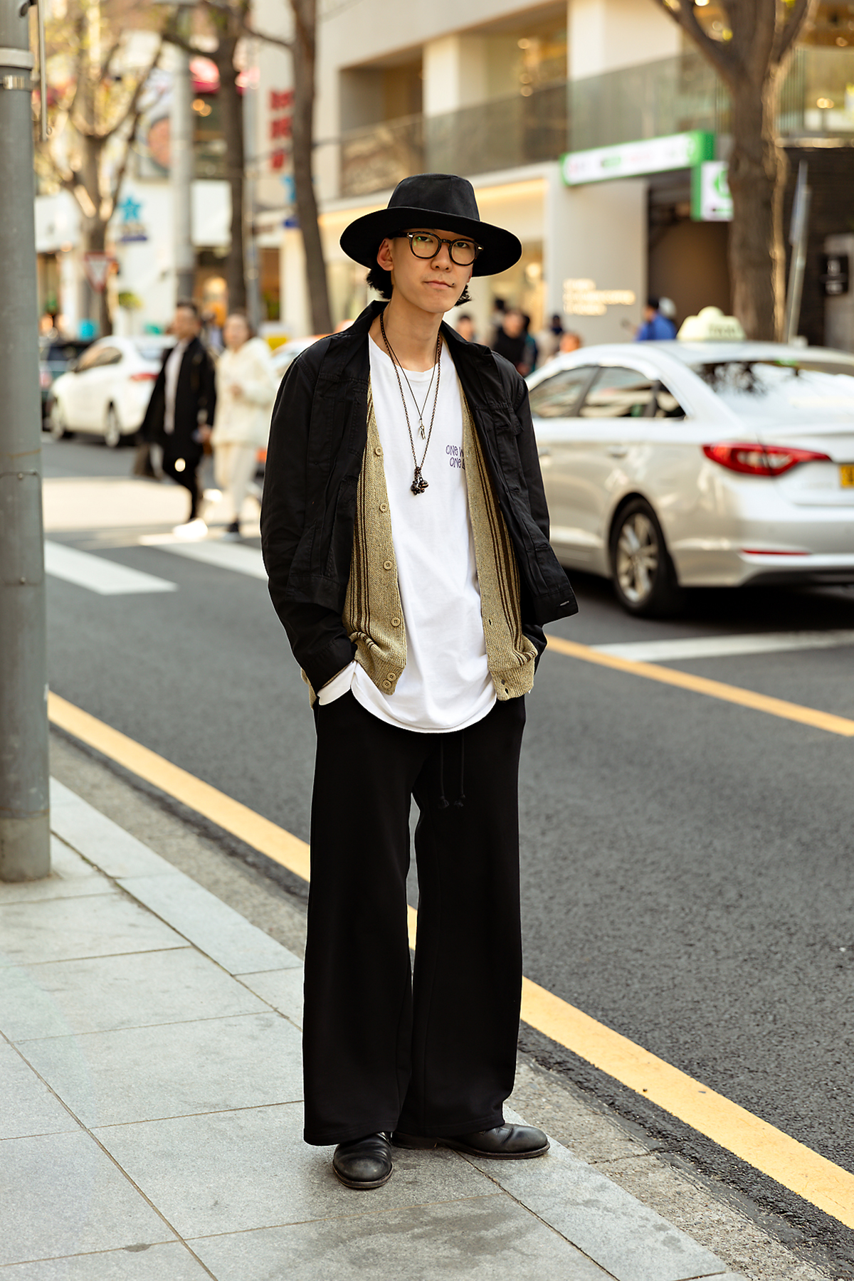 Spring of April 2019 Seoul Men's Street Style