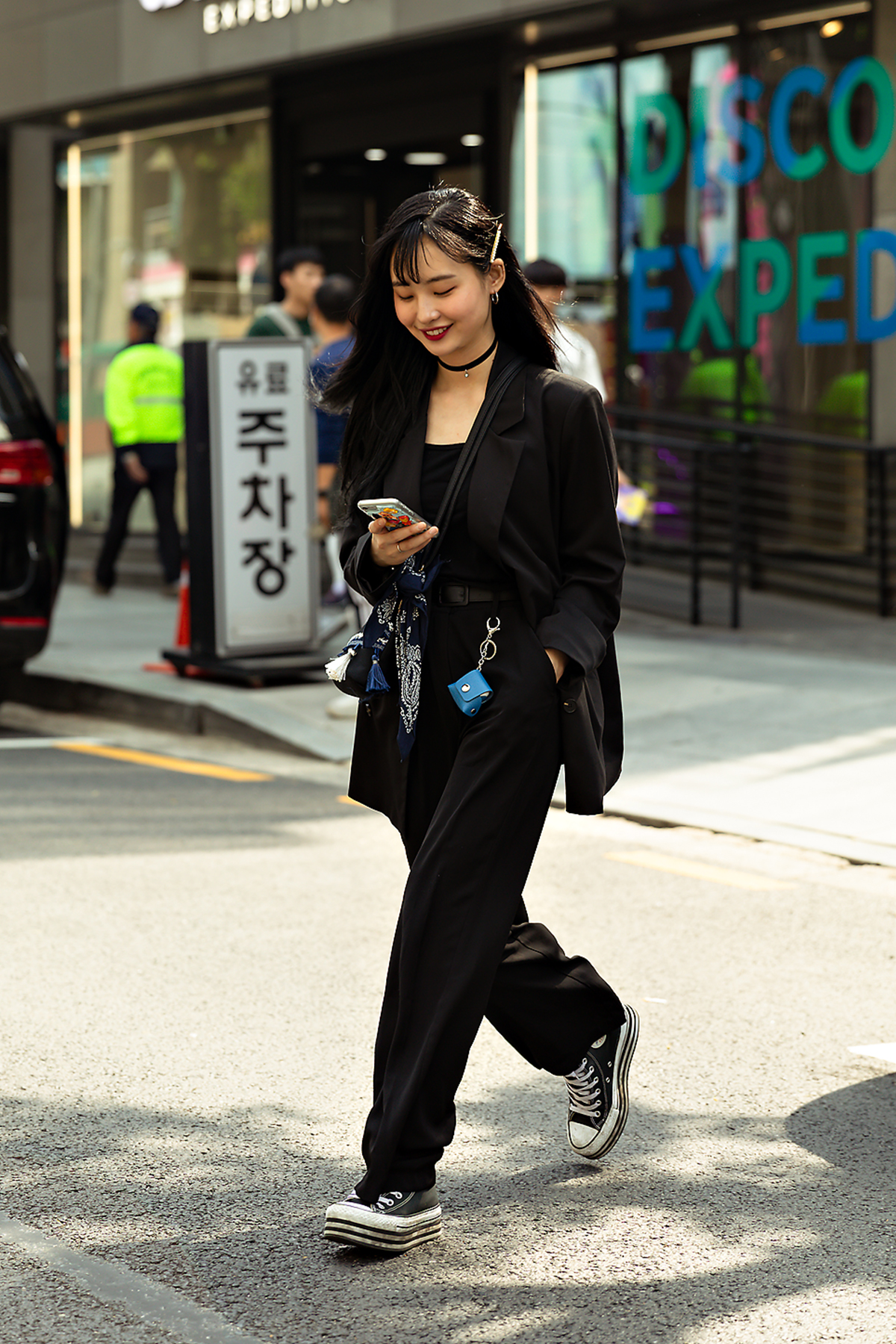 Third story of Seoul women's street style in spring of 2019