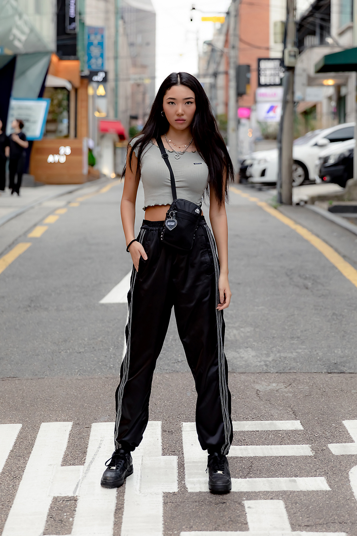 First story of Seoul women's street style in summer of July, 2019