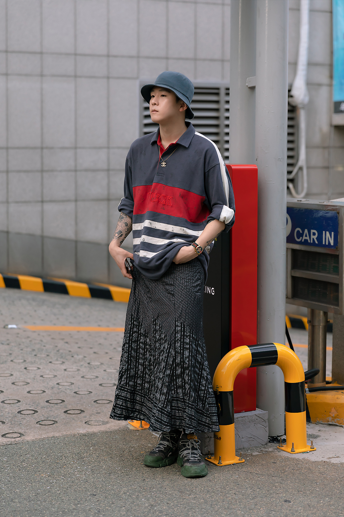 The first story of Busan men's street style in the summer of June, 2019