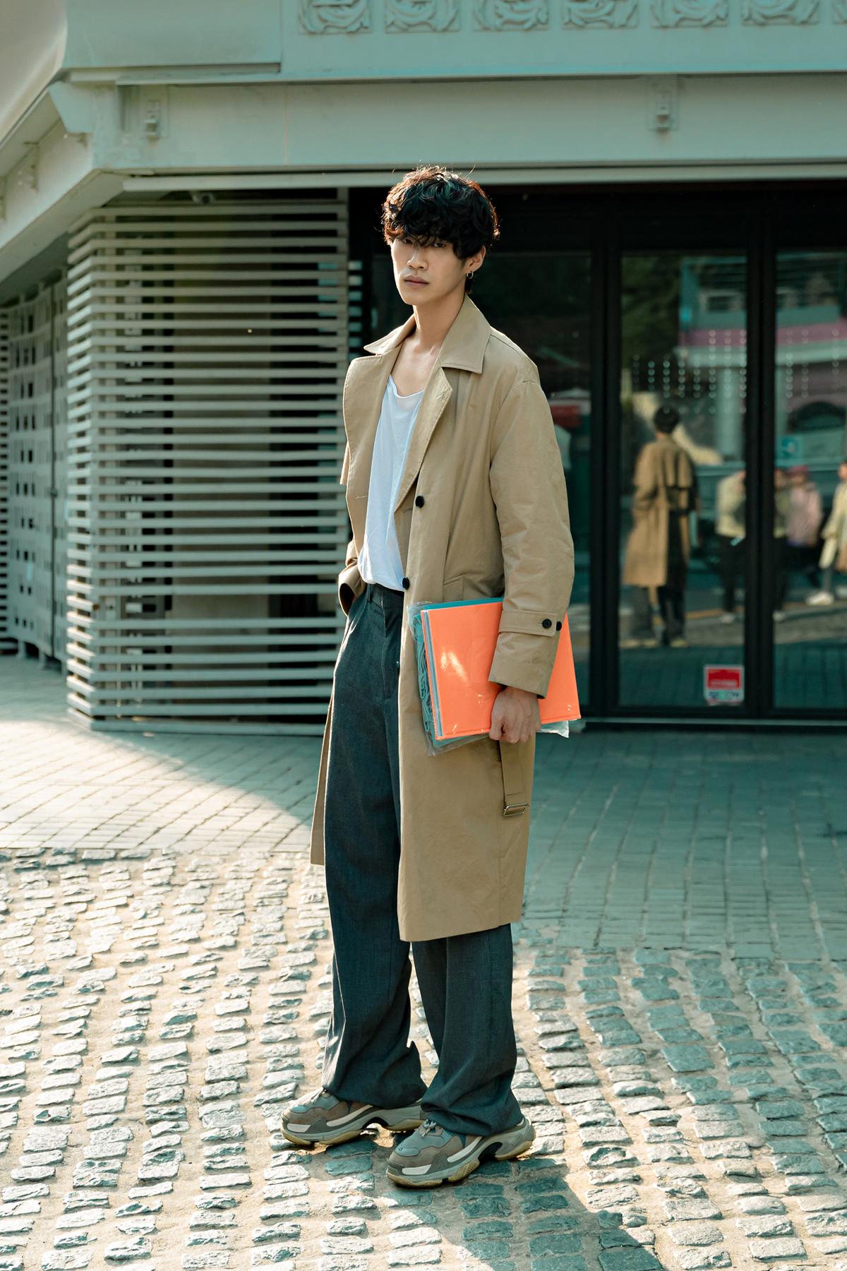 October 2019 Seoul Men's Street Style