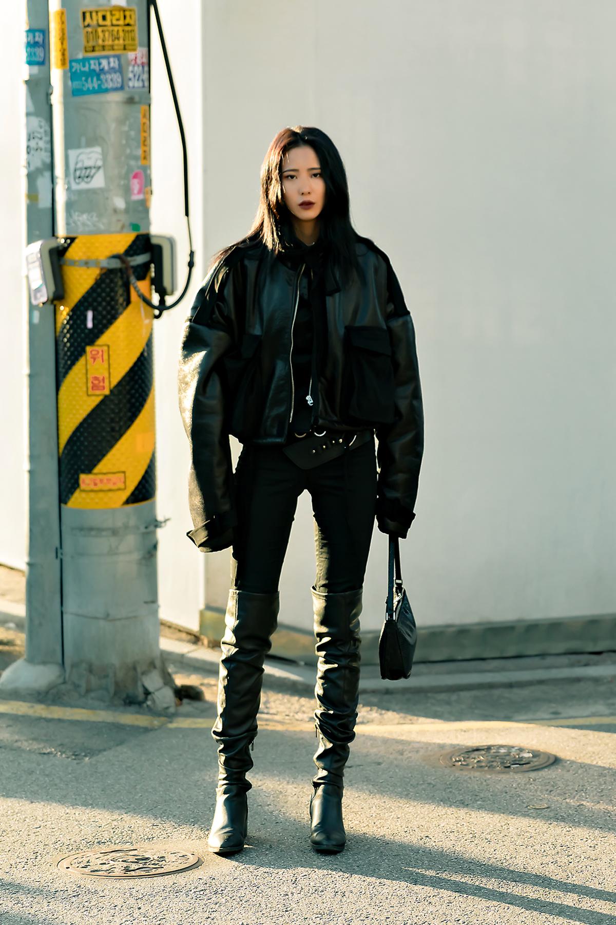 December 2019 Women's Street Fashion Style in Seoul