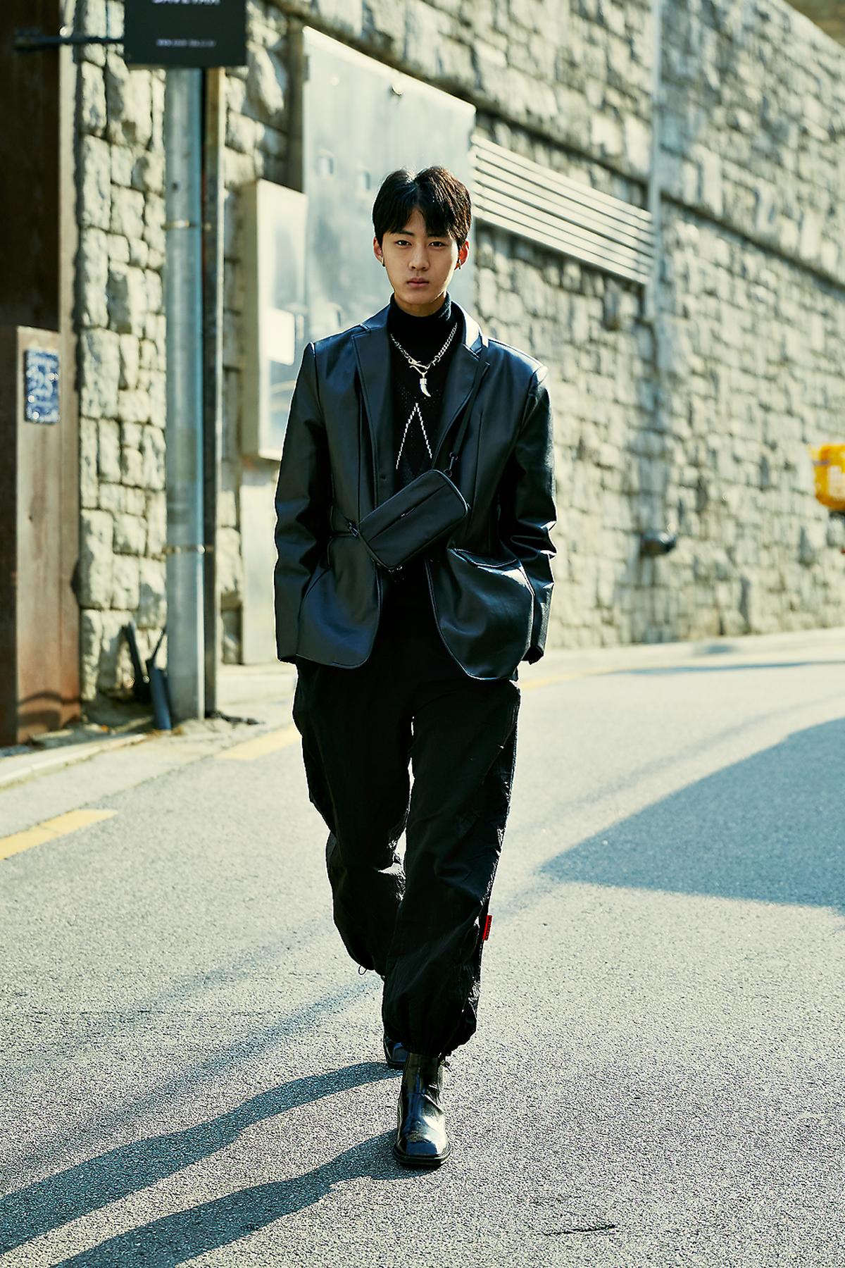 January 2020 Men's Streetwere Style in Seoul