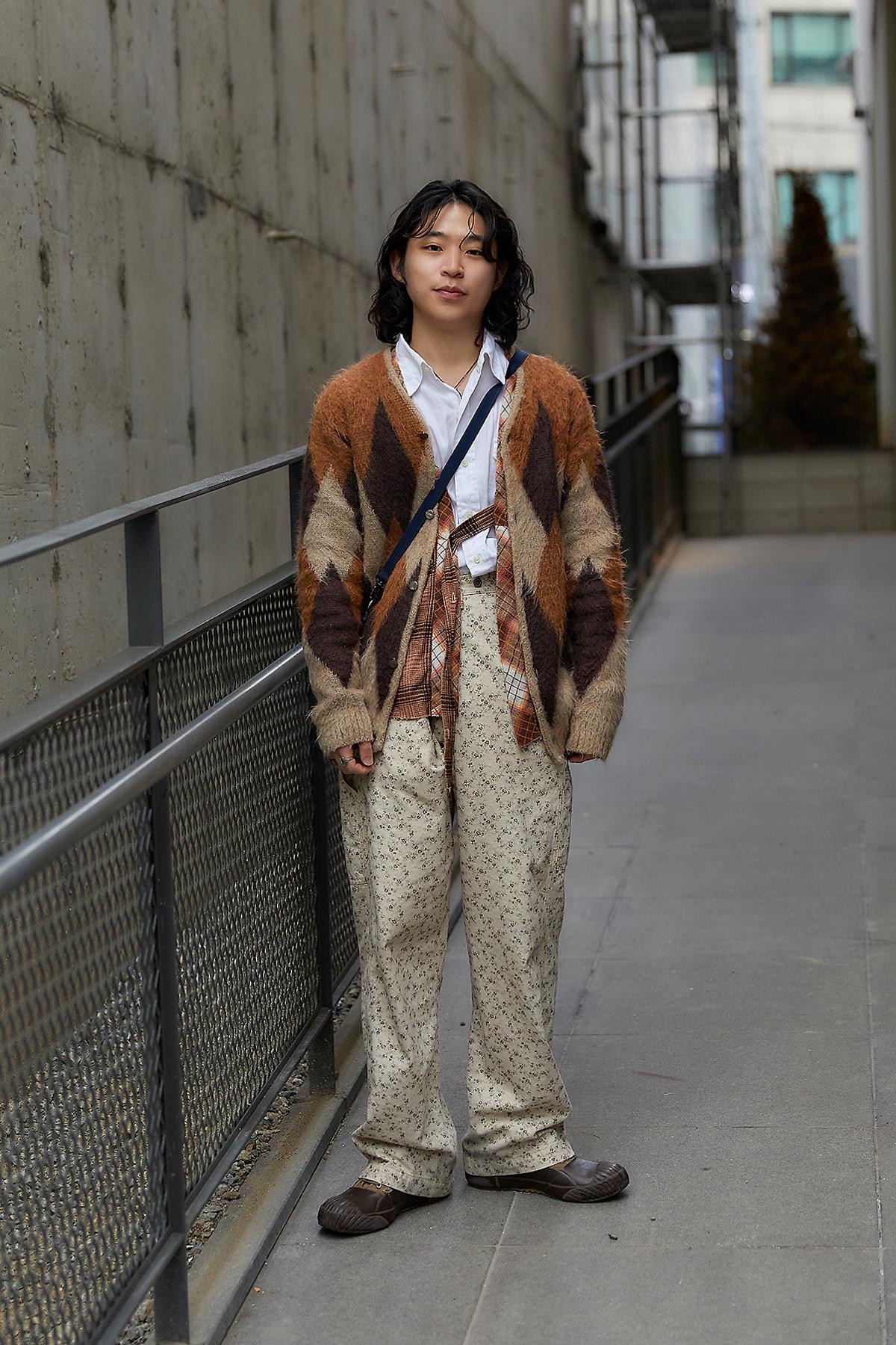 February 2020 Men's Streetwear Style in Seoul