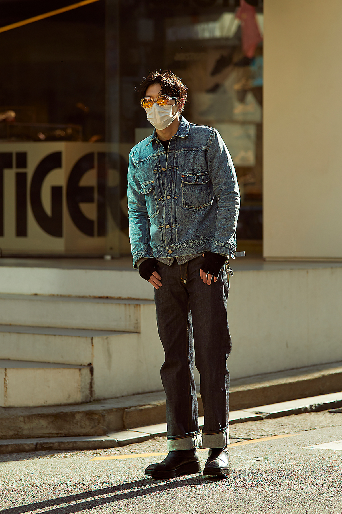 March 2020 Men's Streetwere Style in Seoul