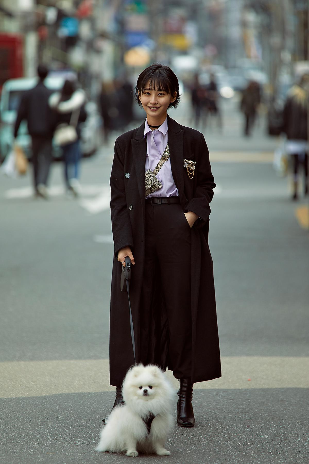 March 2020 Women's Streetwere Style in Seoul
