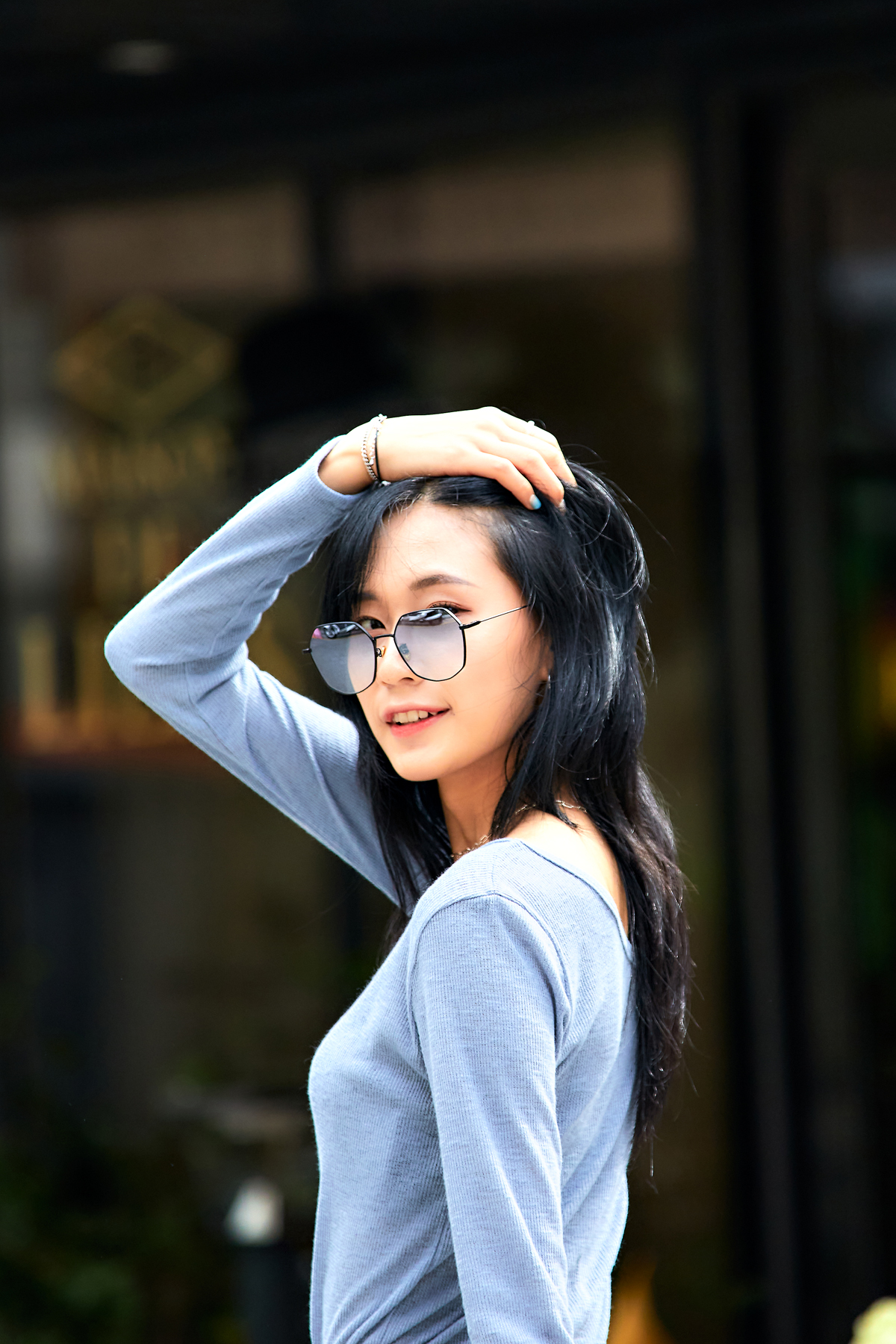 EYEWEAR AFEEL SUNGLASSES STREETFASHION CONTENT SNAP IN SEOUL 2020