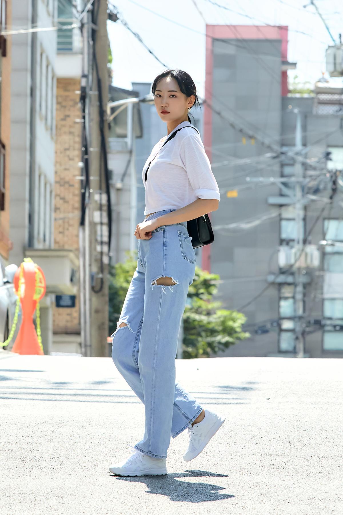 SEOUL STREET FASHION ASICS X MUSINSA CONTENT SNAP 2020