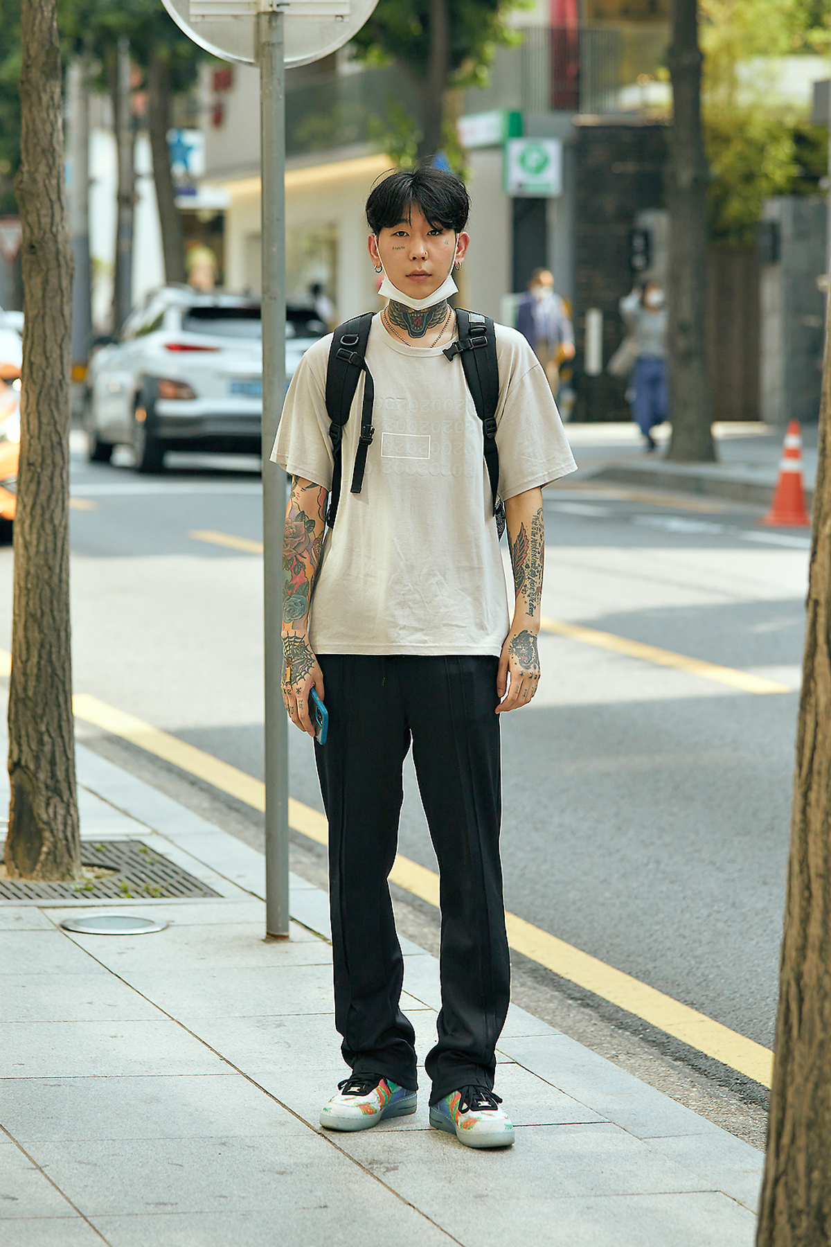 Street Fashion Men's Style in Seoul June 2020