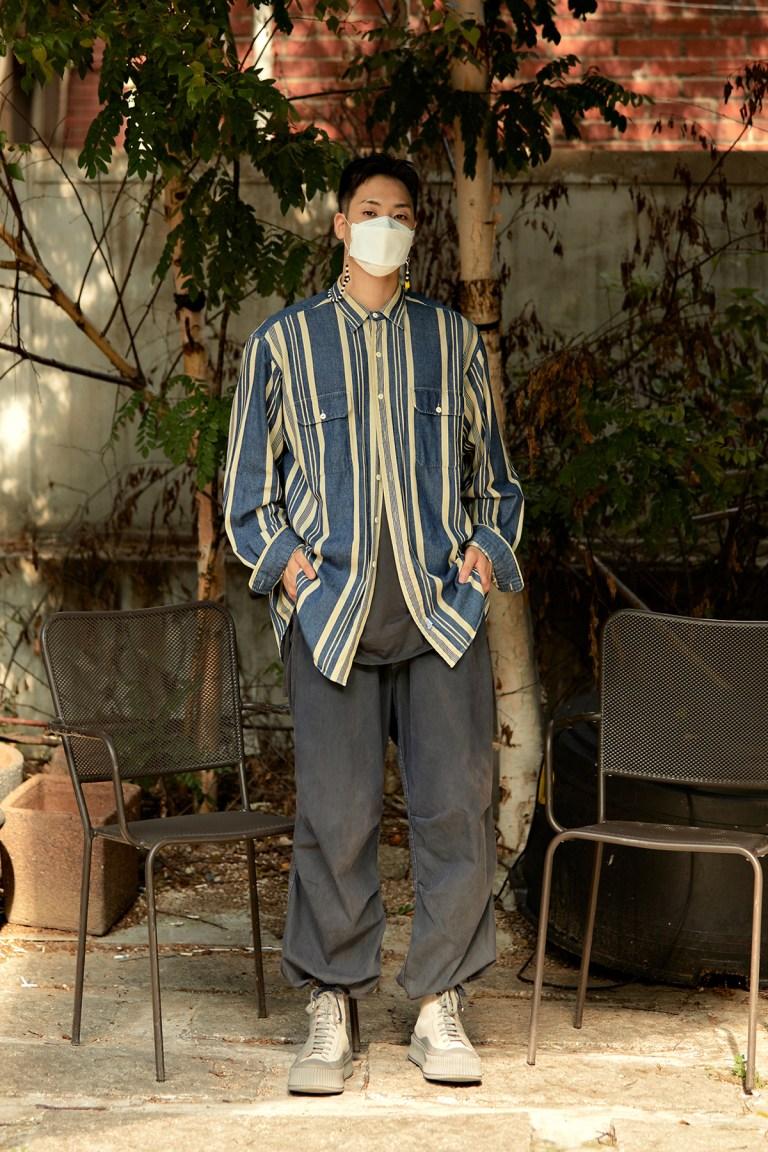 Street Fashion Men's Style in Seoul September 2020