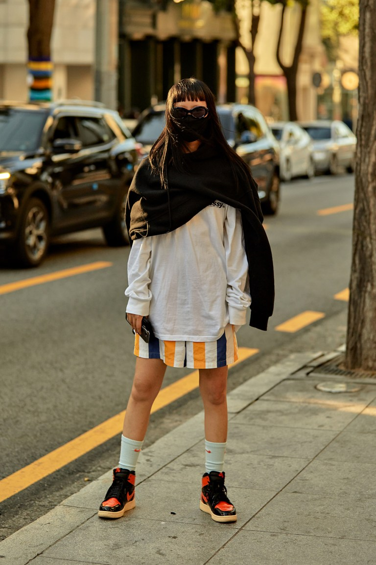 Street Fashion Women's Style in Seoul October 2020