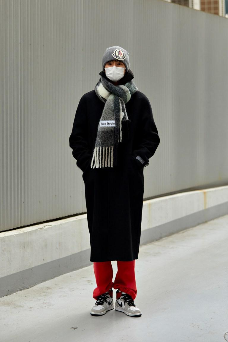 December 2020 Seoul Street Fashion Men's Style