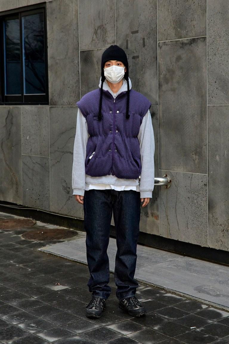 January 2021 Seoul Street Fashion Men's Style