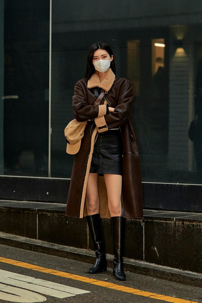 January 2021 Seoul Street Fashion Women's Style